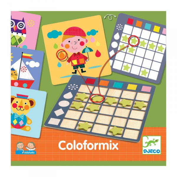Образователна игра Coloformix