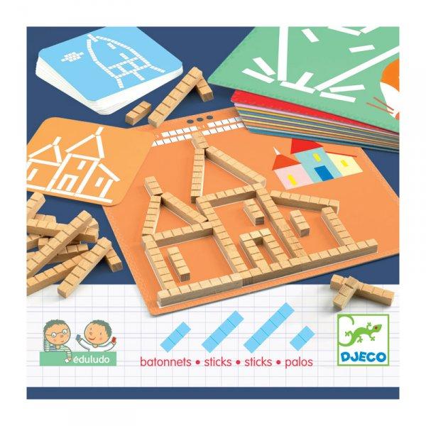 Образователна игра - пръчици