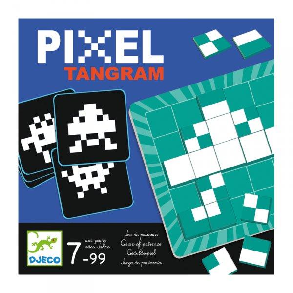 Игра пиксел Tangram