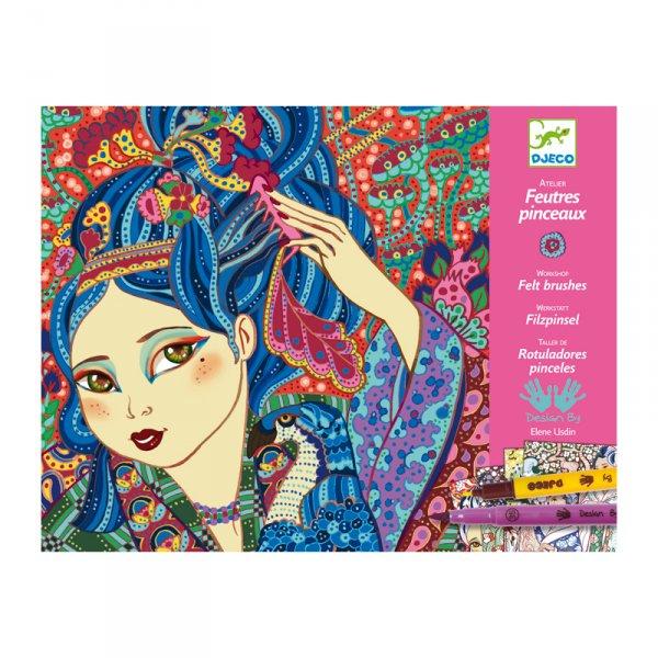 Комплект за оцветяване - Cherry tree