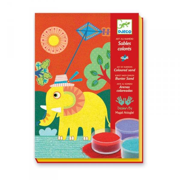 Комплект за оцветяване с пясък - Разходка