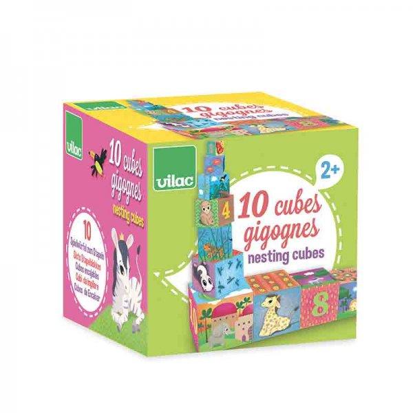 Картонени кубчета - животни