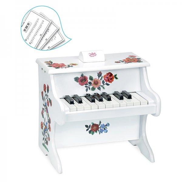 Дървено пиано