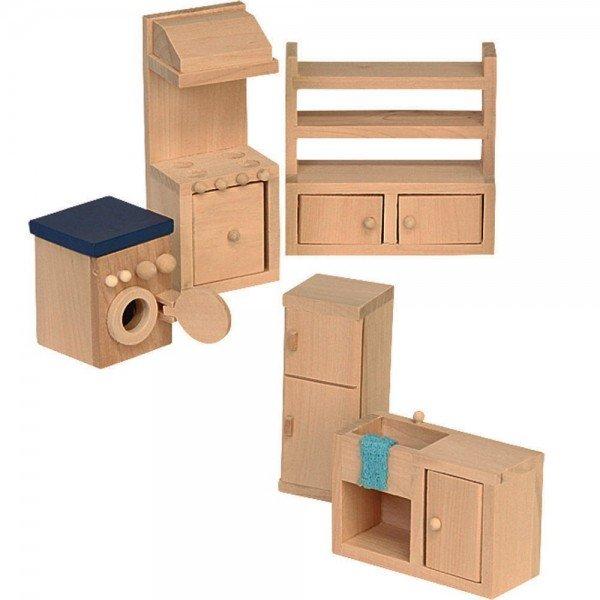 Мебели за къща за кукли - кухня