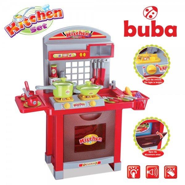 Голяма детска кухня - червена