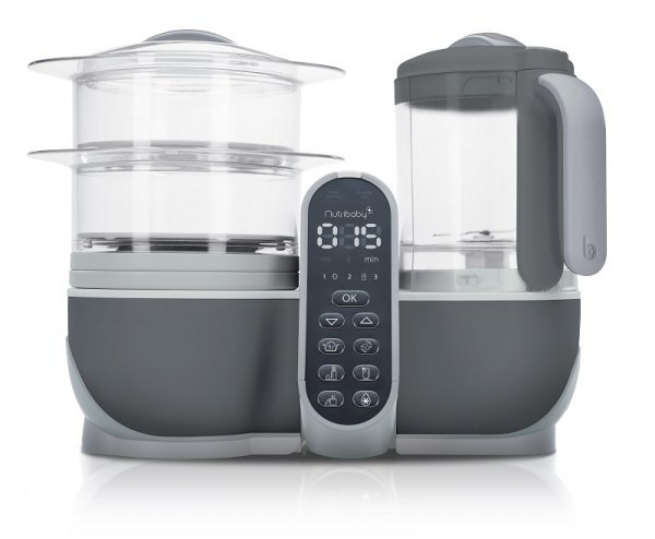 Уред за готвене Nutribaby Plus Industrial Grey