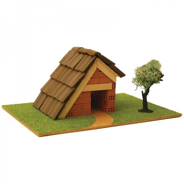 Къща с истински тухли, комплект за начинаещи 1