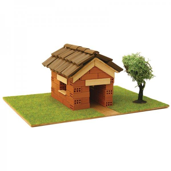 Къща с истински тухли, комплект за начинаещи 2
