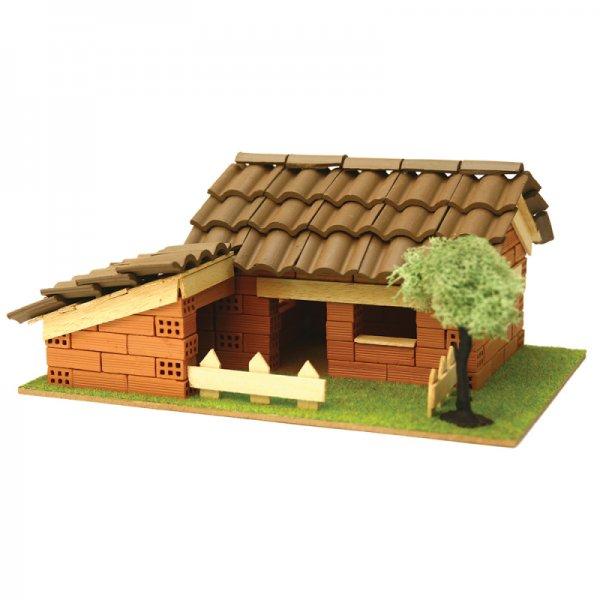 Къща с истински тухли, комплект за начинаещи 4