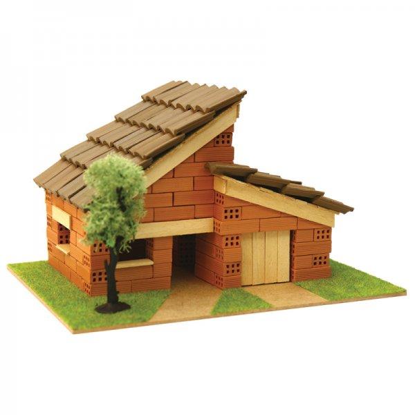 Къща с истински тухли, комплект за начинаещи 5