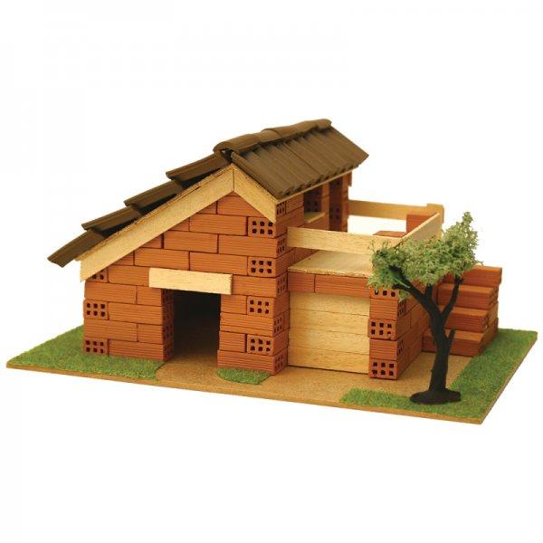 Къща с истински тухли, комплект за начинаещи 6