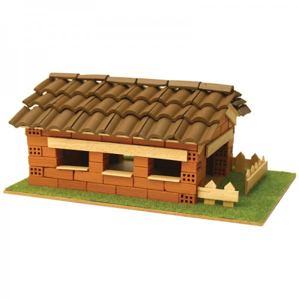 Къща с истински тухли, комплект за начинаещи 7