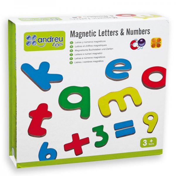 Магнитни букви и цифри