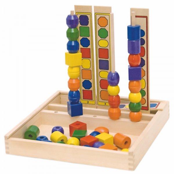 Логическа игра - форми и цветове