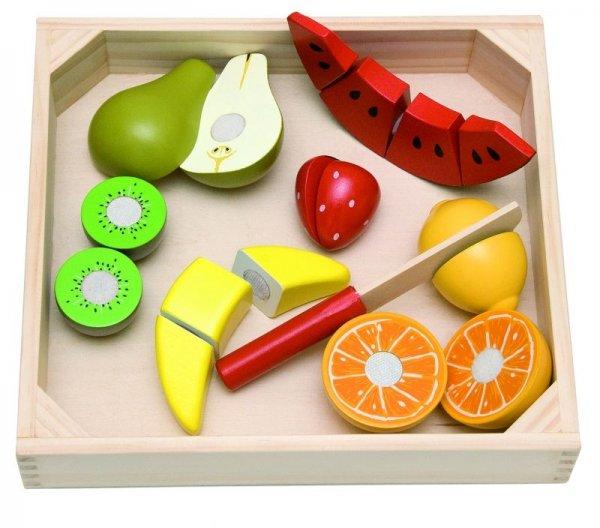 Дървени плодове в табла
