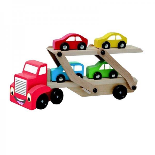 Камион с автовоз