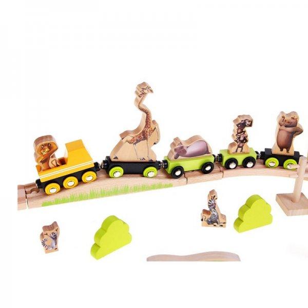Дървено влакче - Африка