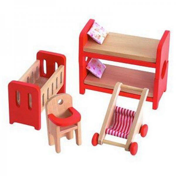 Мебели за къща за кукли - детска стая
