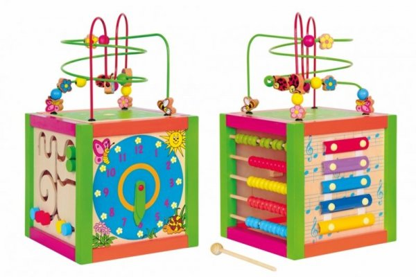 Дидактически цветен куб