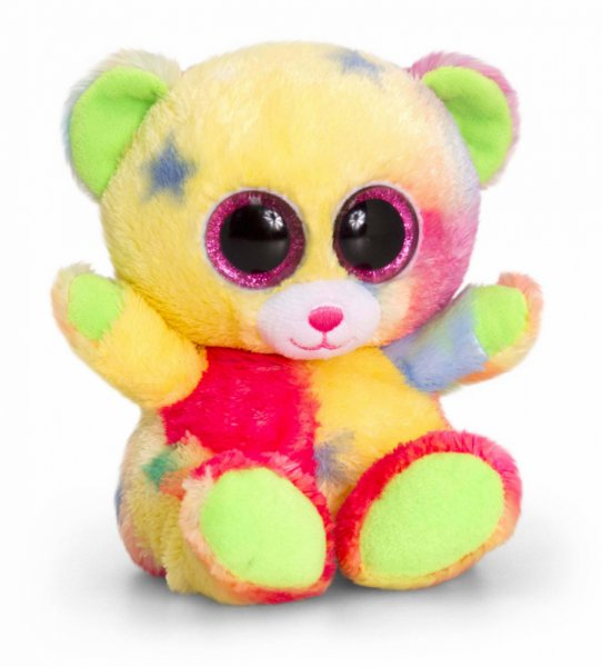 Плюшена играчка - Цветно мече