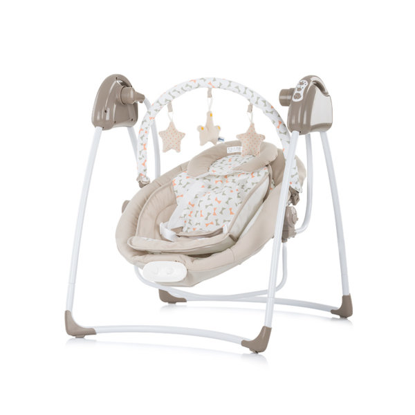 Електрическа бебешка люлка-шезлонг Paradise
