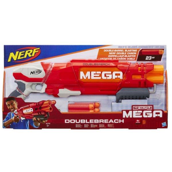 Бластер - Nerf Mega Doublebreach