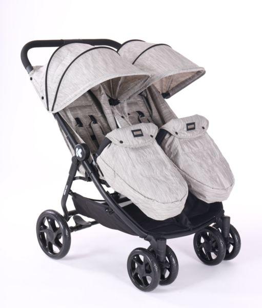 Комбинирана количка за близнаци Happy 2