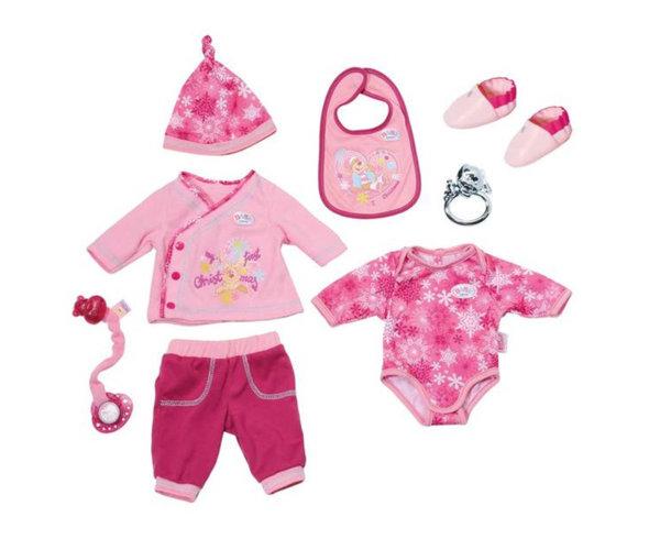 Zapf Baby Born - Коледен комплект с аксесоари за кукла
