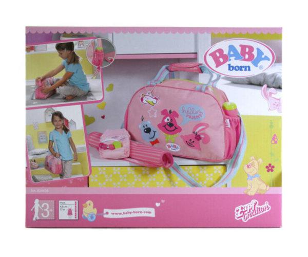 Zapf Baby Born - Комплект за преповиване с чанта