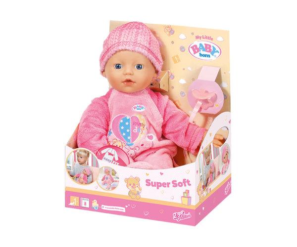 Zapf Baby Born - Моята малка кукла с меко тяло