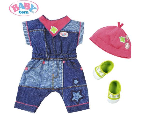 Zapf Baby Born - Дънкови дрешки за кукла
