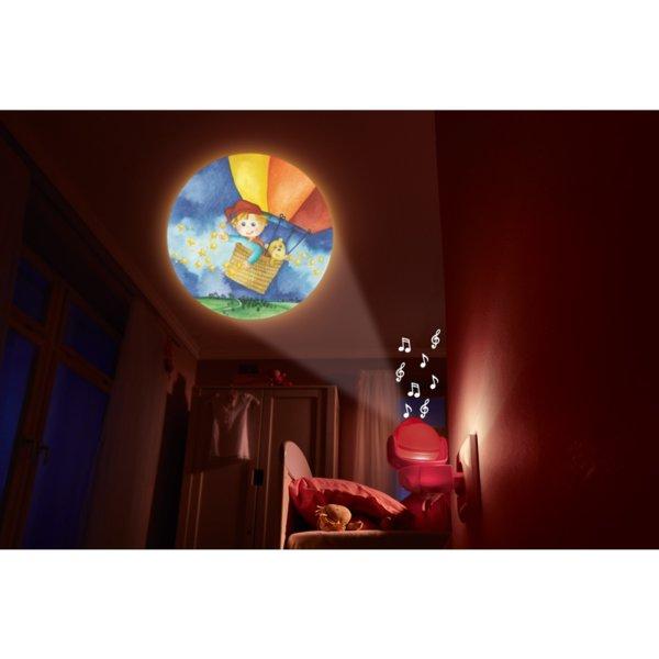 Нощна музикална LED лампа - Сънчо