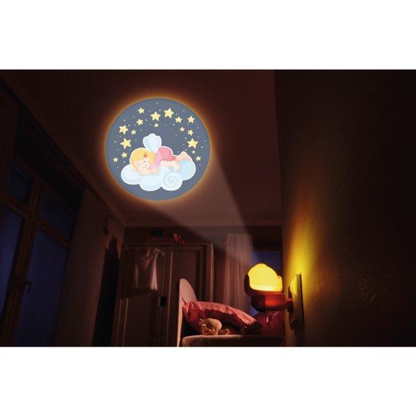 Нощна LED лампа - Принцеси