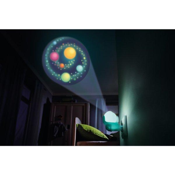 Нощна LED лампа - Галактика