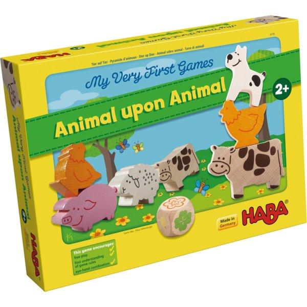 Образователна игра - Животно върху животно