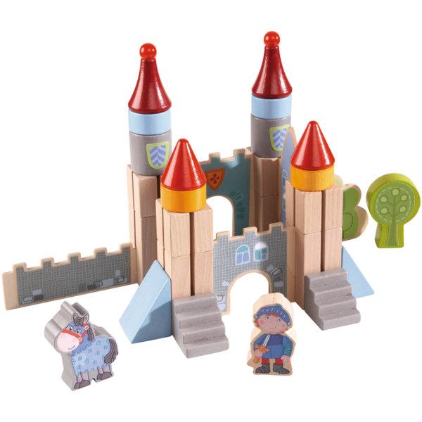 Дървени кубчета - Замък на рицарите