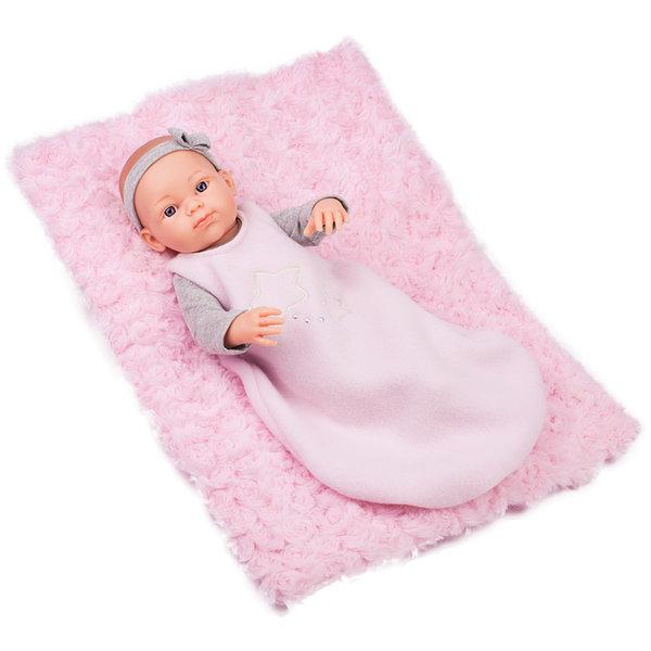 Кукла бебе Rosa с постелка серия Mini Pikolines