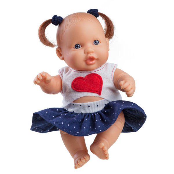 Кукла бебе Greta серия Los Peques