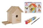 Къщичка за птици за оцветяване