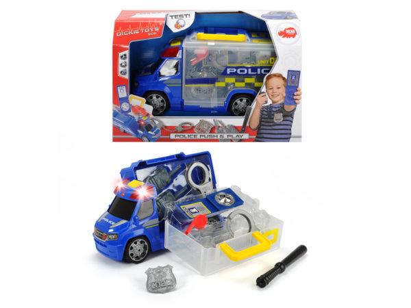 Полицейска кола с аксесоари