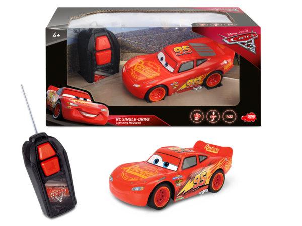 Кола с дистанционно - Маккуин Светкавицата