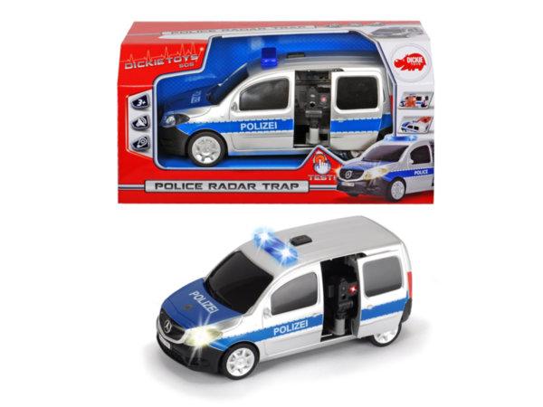 Детски полицейски ван с радар