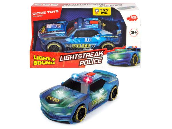 Полицейска кола със звук и светлина
