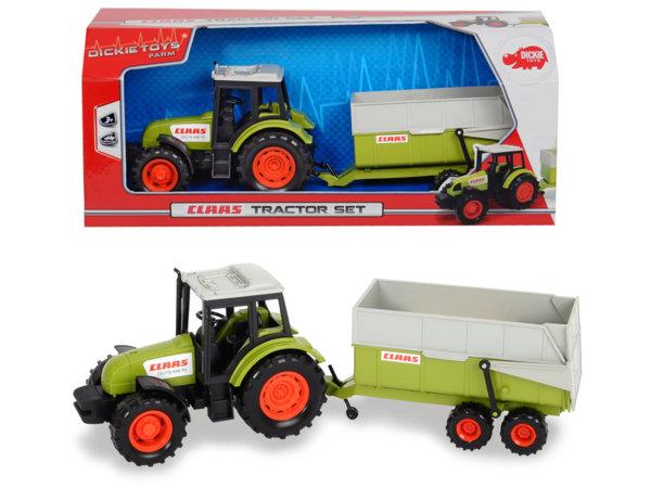 Трактор с ремарке 36 см. CLAAS