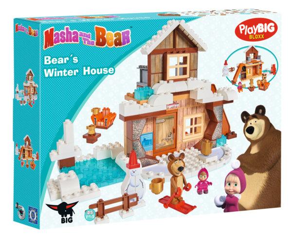 Конструктор - Зимната къща на Мечока