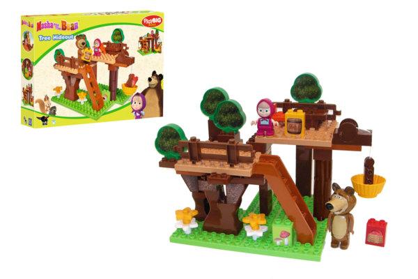 Конструктор - Къща на дървото Маша и Мечока