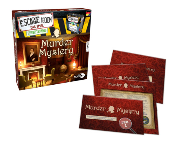 Настолна игра - Escape room - Мистериозно убийство