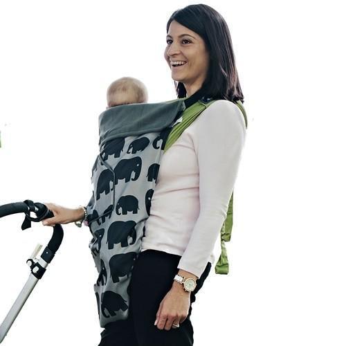 Покривало за носене на бебе 5 в 1 BundleBean