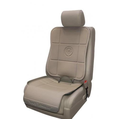 Предпазна подложка за автомобилна седалка от две части
