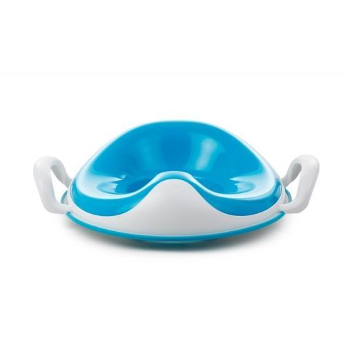 Мека седалка за тоалетна чиния с дръжки weePod Squish